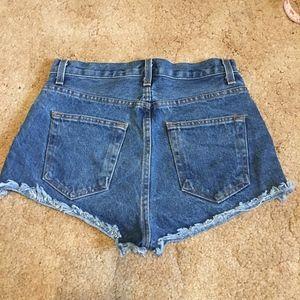 Brandy Melville Shorts - Brandy Melville Denim shorts